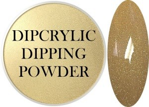 Dipcrylic Acrylic Dipping Powder - Heavy Metal Collection - 24K