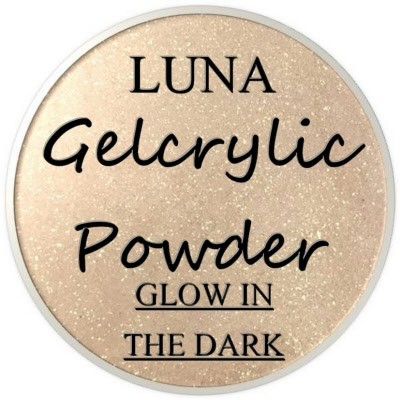 Gelcrylic Powder - Luna Glow In the Dark Collection - Meteorite