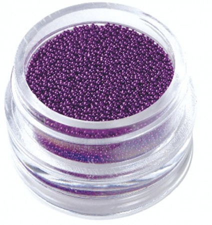 Nail Art Caviar Pearls #11 Purple
