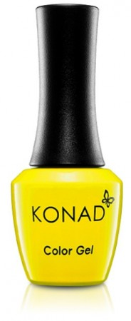 Konad Color Gel Nail Polish - CG017 Empire Yellow