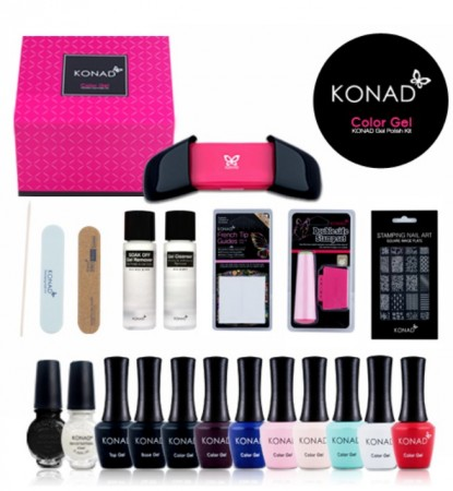 Konad Color Gel Nail Polish Kit