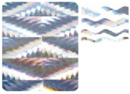 3D Holo Laser Strip Tape Nail Stickers STTP-15