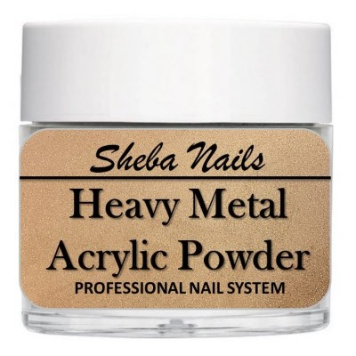Heavy Metal Acrylic Powder - Copper