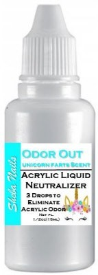 Acrylic Odor Out Unicorn Farts Scent
