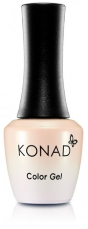 Konad Color Gel Nail Polish - CG072 Nude Chiffon