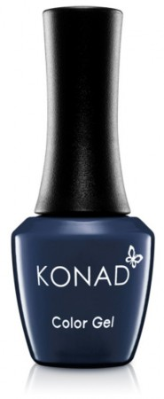 Konad Color Gel Nail Polish - CG080 Satin Navy