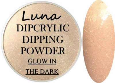 Dipcrylic Acrylic Dipping Powder - Glow in the Dark Collection - Luna Meteorite