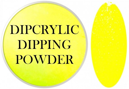 Dipcrylic Acrylic Dipping Powder - Unicorn Poop Collection - Sunny