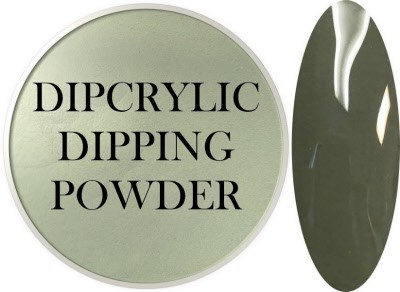 Dipcrylic Acrylic Dipping Powder - Retro Collection - Olive