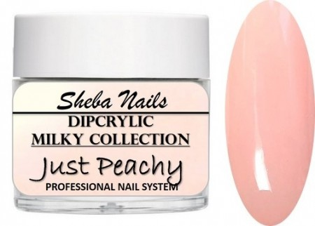 Dipcrylic Acrylic Dipping Powder - Milkies Collection - Just Peachy