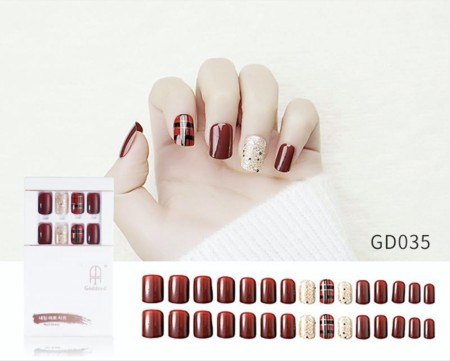 Press On Nails GD-035