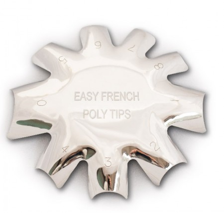 Acrylic Smile Line Cutter - 01 - Easy French Poly Tips