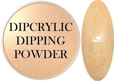 Dipcrylic Acrylic Dipping Powder - Pastels Collection - Pastel Gold