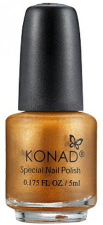 Konad Nail Art - Special Nail Polish - S12 Gold Brown