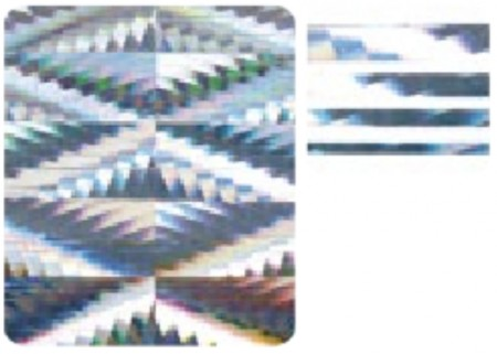3D Holo Laser Strip Tape Nail Stickers STTP-14