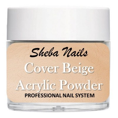 Sheba Nails - Cover Acrylic Powder Collection - Cover Beige
