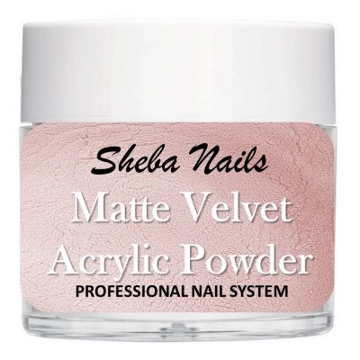 Matte Velvet Color Acrylic Powder - Blush