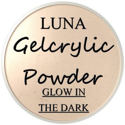 Gelcrylic Powder - Luna Glow In the Dark Collection - Moon Rock
