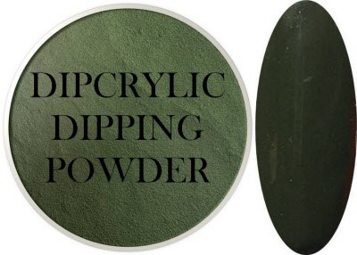 Dipcrylic Acrylic Dipping Powder - Retro Collection - Moss