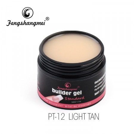 Fengshangmei Builder Gel PT-12 Light Tan