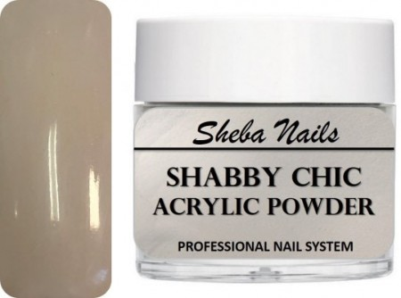 Shabby Chic Acrylic Powder - White Wash