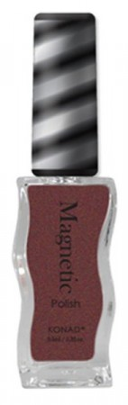 Konad Nail Art - Magnetic Polish - Metallic Brown - MGP003