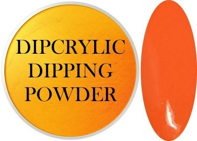 Dipcrylic Acrylic Dipping Powder - Neon Collection - Neon Mango