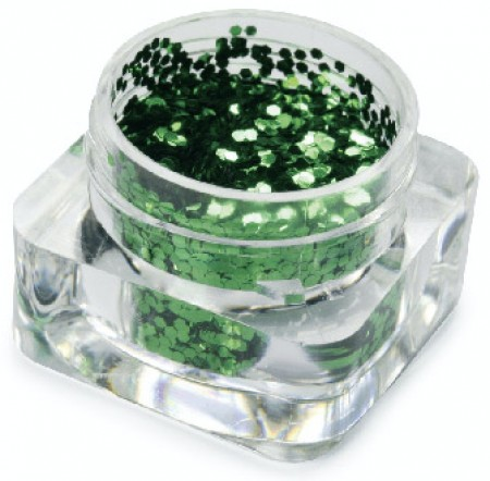 Hexagon Dazzling - Green - GDA-062