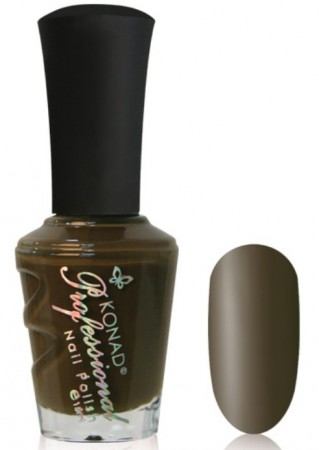 Konad Professional Nail Polish - P842 Bronze Brown
