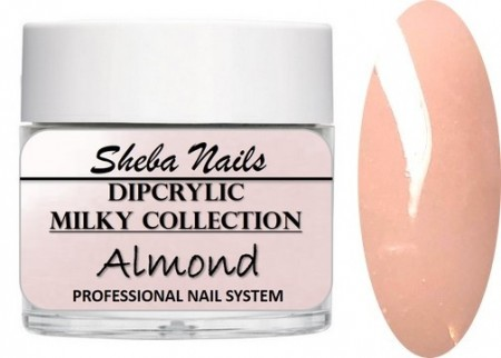 Dipcrylic Acrylic Dipping Powder - Milkies Collection - Almond