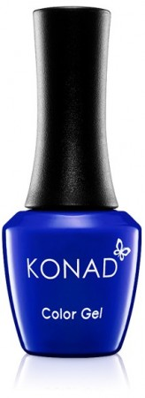 Konad Color Gel Nail Polish - CG063 Neon Deep Blue