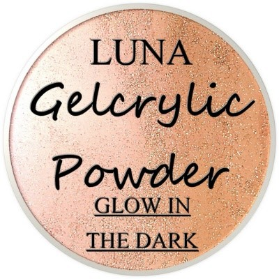 Gelcrylic Powder - Luna Glow In the Dark Collection - Falling Star