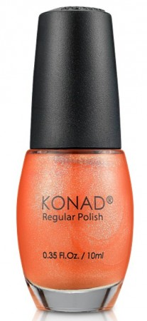 Konad - Regular Nail Polish - R40 Orange Pearl