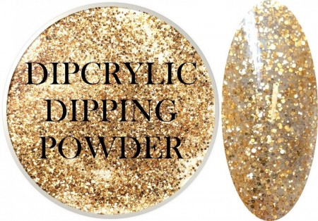 Dipcrylic Acrylic Dipping Powder - Glitter Collection - Sahara Mix