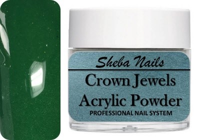 Crown Jewels Color Acrylic Powder - Envy